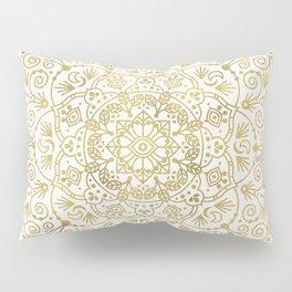 Moroccan Mandala – Gold Palette Pillow Sham