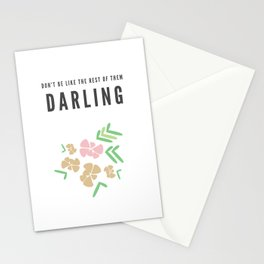 Don't Be Like The Rest of Them, Darling Stationery Cards