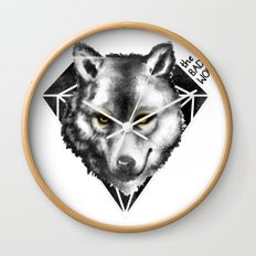 The Bad Wolf Wall Clock