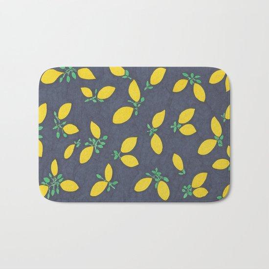 Lemon Drops Bath Mat