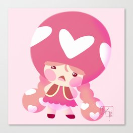 Toadette of Hearts Canvas Print