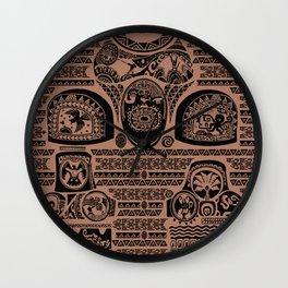 Maui Tattoos Inspired Moana Wall Clock
