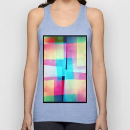 constructs #2 (35mm multiple exposure) Unisex Tank Top