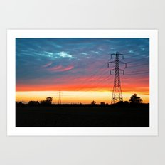 The Warmth Of Lincolnshire Art Print