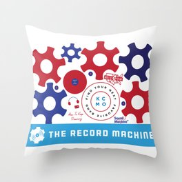 TRM Icons Throw Pillow