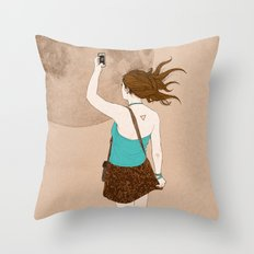 Instagramer Throw Pillow