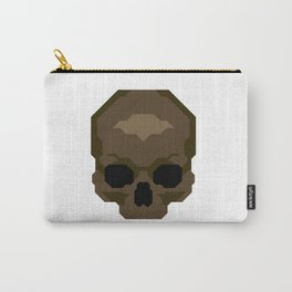 Skull pixelated Carry-All Pouch