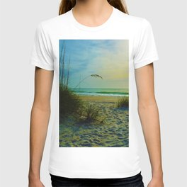 The Beach on Little Gasparilla Island , Florida USA T-shirt