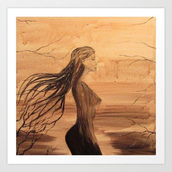 Sylpha Art Print