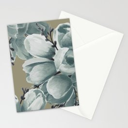 Spring Tulips Neutral  Stationery Cards