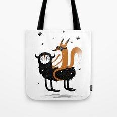 Space Fox Wanderer Tote Bag
