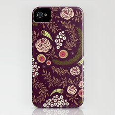 Autumn's Dusk Floral Slim Case iPhone (4, 4s)