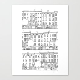 blocks of Brooklyn Canvas Print