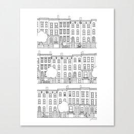 blocks of Brooklyn Canvas Print