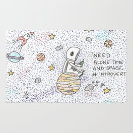 Need space, alone Rug