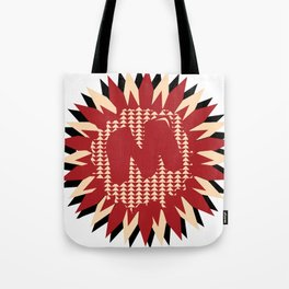 Moulded Rides Puzzle Tote Bag