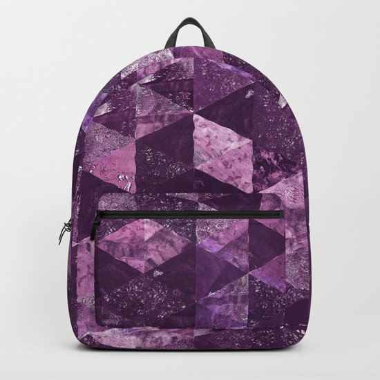 Abstract Geometric Background #10 Backpack