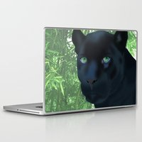 panther Laptop & iPad Skins featuring Panther by ShannonMD