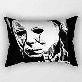Evil Never Dies Rectangular Pillow