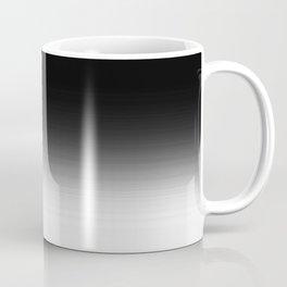 Black & White Ombre Gradient Coffee Mug