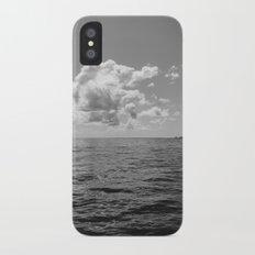 Monochrome Ocean View II iPhone X Slim Case