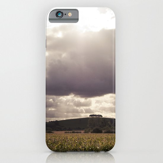 shine forth upon our clouded hills... iPhone & iPod Case