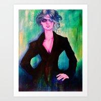 denver Art Prints featuring Denver by Olga Noes