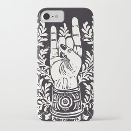 Mano Cornuto iPhone Case