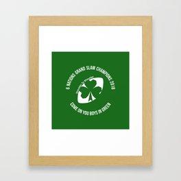 Ireland - Grand Slam Champions 2018 Framed Art Print