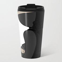 Ninja Crouch Metal Travel Mug
