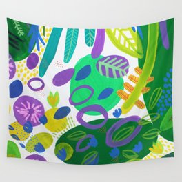 Between the branches. V Wall Tapestry