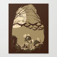 Woodland wars Canvas Print