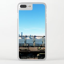 Piers | Hudson River | NYC Clear iPhone Case