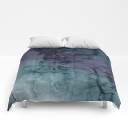 Energize - Mixed media painting Comforters