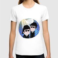 blues brothers T-shirts featuring The Blues Brothers by my panda suit by la Lena