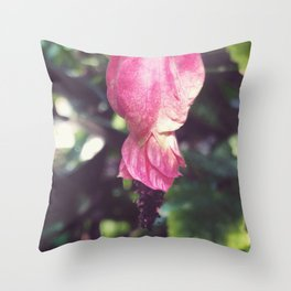 Rosa Puffs II Throw Pillow