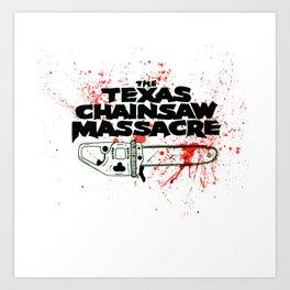 Texas Chainsaw Massacre Art Print