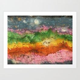 Desert Bash Art Print