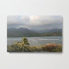 Hanalei Bay, Kauai Hawaii Metal Print
