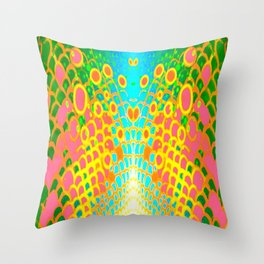 Engage Plasma Beam Throw Pillow
