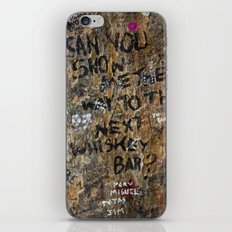 Show me the way iPhone & iPod Skin