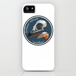 Erithacus rubecula iPhone Case