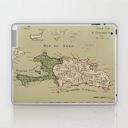 Map Of Hispaniola 1767 Laptop & iPad Skin