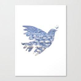 clouddove Canvas Print