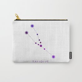 TAURUS STAR CONSTELLATION ZODIAC SIGN Carry-All Pouch