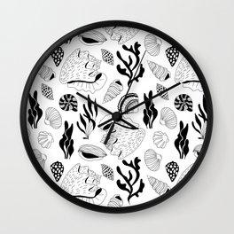 Marine life II Wall Clock
