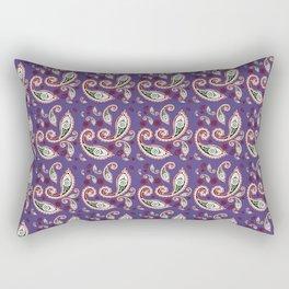 Oriental ornament purple . artwork Rectangular Pillow