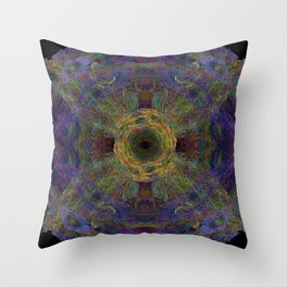 Color Hesh Throw Pillow