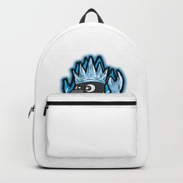 EMPEROR PENGUIN King Ruler Ice Throne Cartoon Gift Backpack