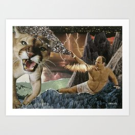 CANTSTANDYA: The Wrath of George Costanza Art Print